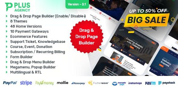 PlusAgency - Multipurpose Website CMS / Business CMS