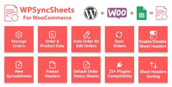 WooCommerce Google Spreadsheet Addon - CodeCanyon Item for Sale