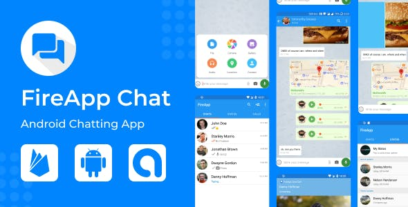 FireApp Chat - Android Chatting App with Groups