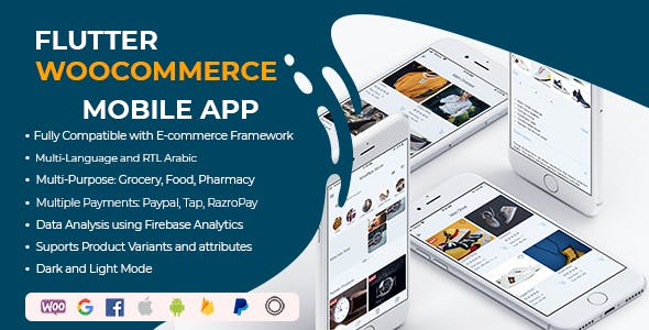 Flutter WooCommerce Android & Ios WooCommerce App - Flutter WooCommerce Android & Ios Ecommerce App