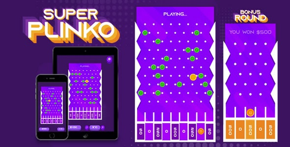 Super Plinko - HTML5 Game - CodeCanyon Item for Sale