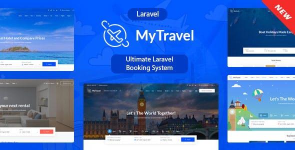 MyTravel  - Ultimate Laravel Booking System