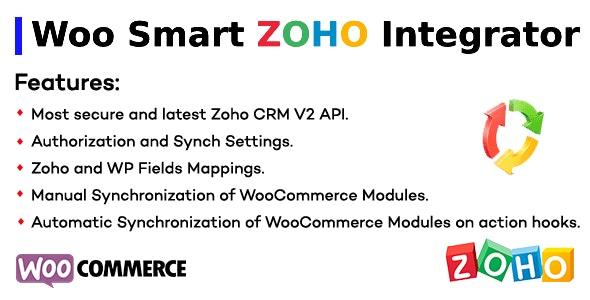 Woo Smart Zoho Integrator - CodeCanyon Item for Sale