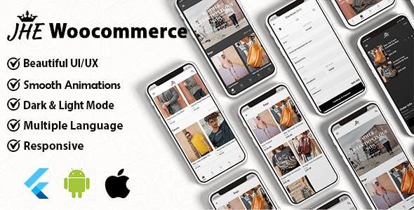 JHE Woocommerce Flutter App ( Andorid & IOS )