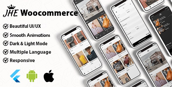 JHE Woocommerce Flutter App ( Andorid & IOS ) - CodeCanyon Item for Sale