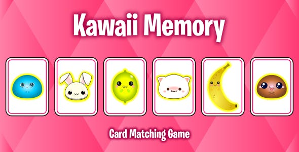 Kawaii Memory - Card Matching Game