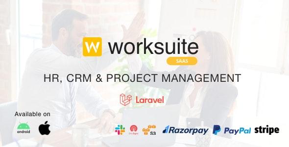 Worksuite Saas v3.9.8 – Project Management System – nulled