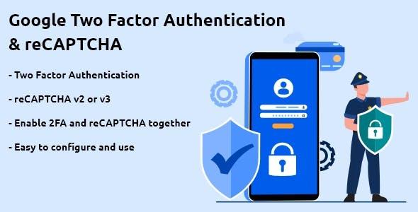 Google Two Factor Authentication & reCAPTCHA for WordPress
