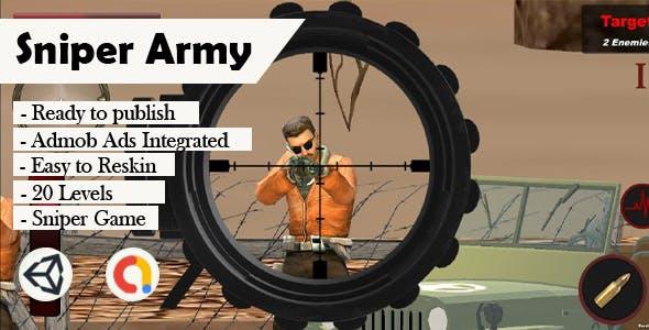 Sniper Army 3D (Unity - Admob)