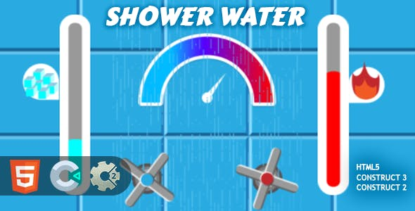 Shower Water HTML5 Construct 2/3