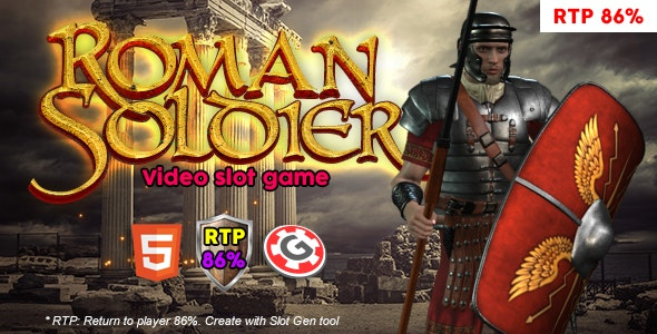 Roman Solider Video Slot - CodeCanyon Item for Sale