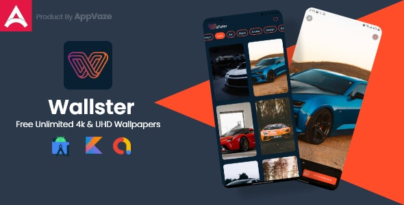 Wallpaper - Auto 4k & UDH Wallpapers App (No Hosting Required) - CodeCanyon Item for Sale