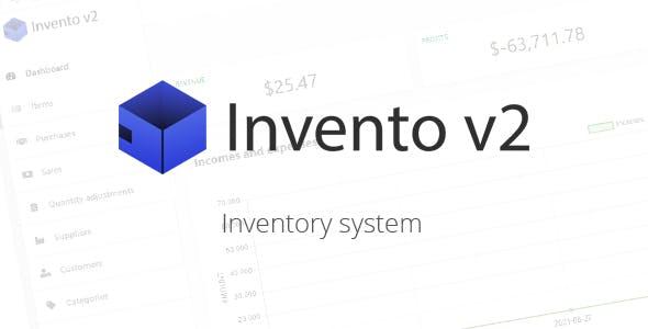 Invento v2 - Inventory system