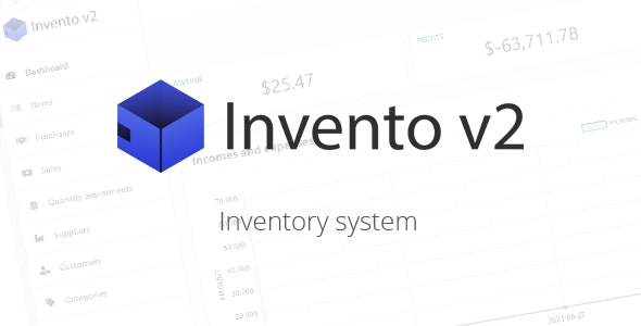 Invento v2 - Inventory system - CodeCanyon Item for Sale