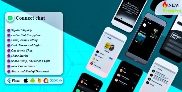Connect Chat with firebase - CodeCanyon Item for Sale