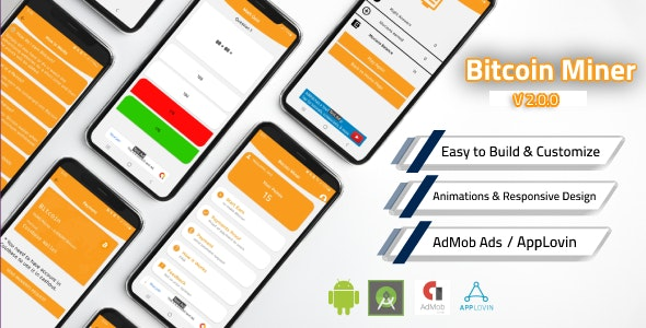 Bitcoin Miner App with Admin Panel and Admob v2.0.0