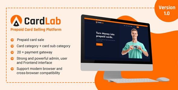 CardLab - Prepaid Card Selling Platform
