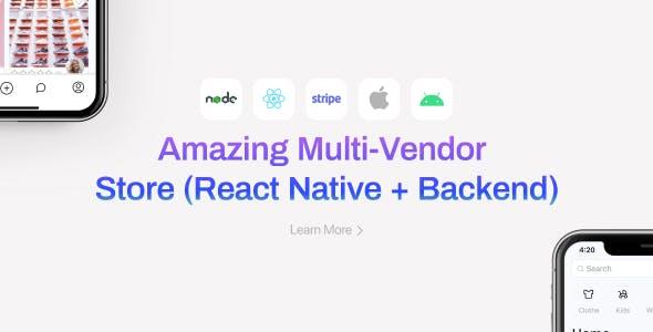 E-commerce Mobile Store App (React Native + Backend + Figma Design) | Klaar Shop