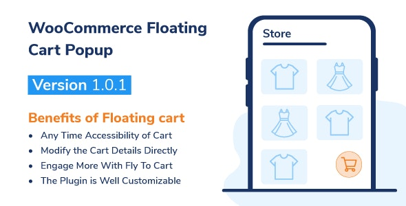 WooCommerce Floating Cart Popup - CodeCanyon Item for Sale