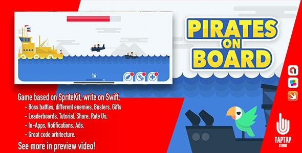 Pirates on Board - CodeCanyon Item for Sale