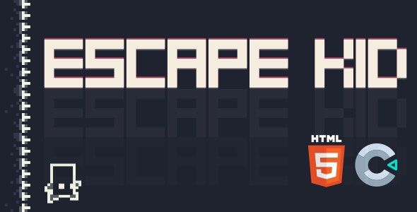 Escape Kid - HTML5 Game (Construct 3)