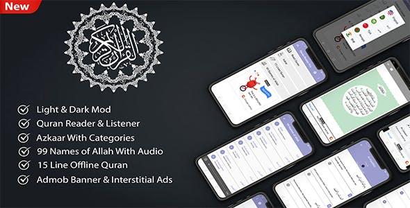 Quran Reader Pro | Listen & Read Full Holy Quran Islamic App for Muslims