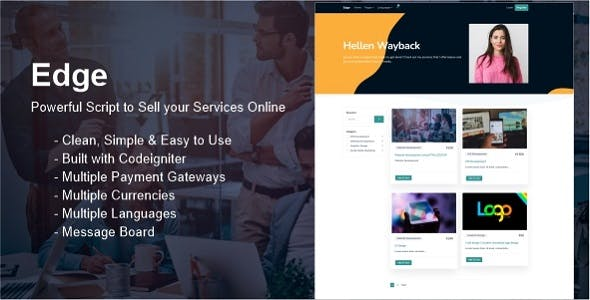 Edge - Sell your Services Online