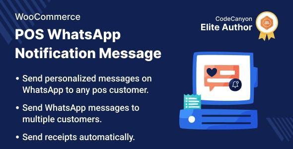 WooCommerce POS WhatsApp Notification Message