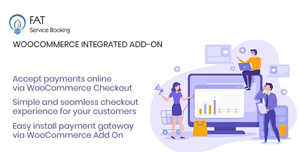Fat Service Booking - WooCommerce Checkout Add On