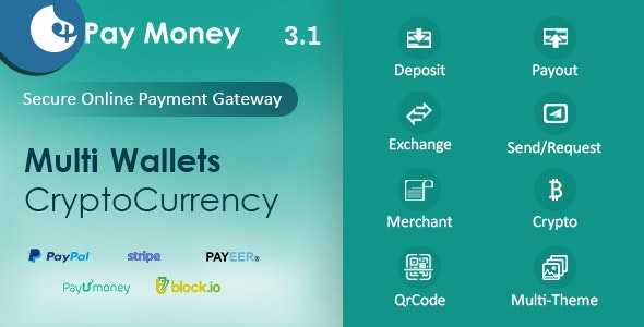 PayMoney v3.1 – Secure Online Payment Gateway – nulled