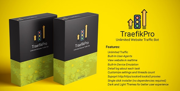 Mass traffic bot - TraefikPro - Unlimited website visitor - CodeCanyon Item for Sale