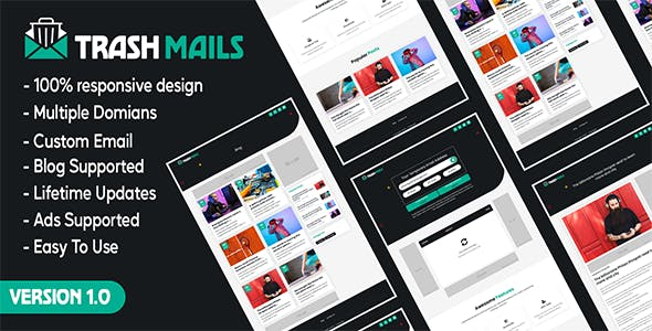 Trash Mails - Temporary Email Address System