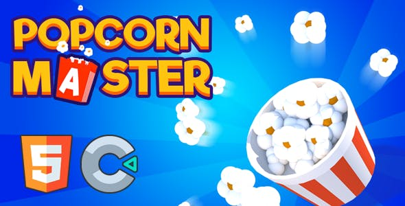 Popcorn Master - (HTML5 Game - Construct 3)