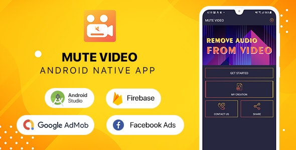 Video Mute - Android - CodeCanyon Item for Sale