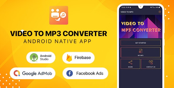 Video to mp3 Converter - Android - CodeCanyon Item for Sale