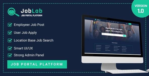 JobLab - Job Portal Platform - CodeCanyon Item for Sale