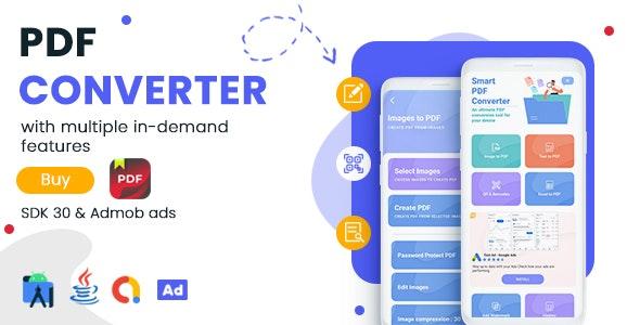 PDF Converter & PDF Editor for Android – Admob Ads v1.0