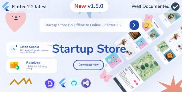Startup Store Go Offline to Online - Flutter 2.5 - CodeCanyon Item for Sale