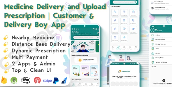 DrMedico v1.2 – On Demand Pharmacy Delivery