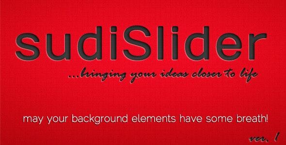 SudiSlider - Background Elements Slider - CodeCanyon Item for Sale