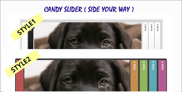 Candy Slider - CodeCanyon Item for Sale