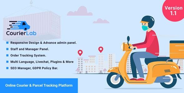 CourierLab v1.1 – Online Courier And Parcel Tracking Platform