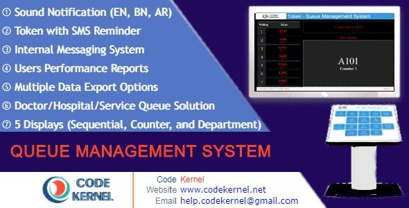 Token v4.1.0 – Queue Management System – nulled
