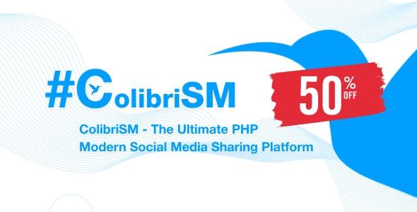 ColibriSM v1.2.7 – The Ultimate PHP Modern Social Media Sharing Platform – nulled