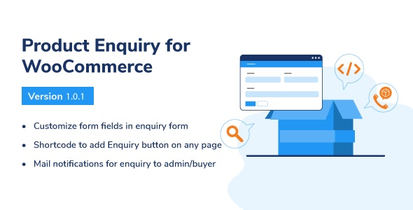 Product Enquiry For WooCommerce - CodeCanyon Item for Sale