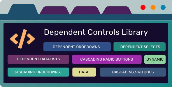 Dependent Controls Library