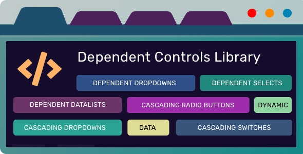 Dependent Controls Library - CodeCanyon Item for Sale