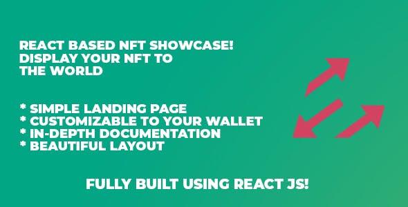 Simple React NFT Display / Showcase