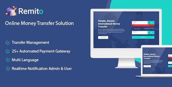 Remito v1.0 – Online Money Transfer Solution
