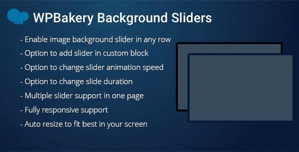 WPBakery Background Sliders Addon